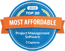 Capterra Most Affordable Project Management Software