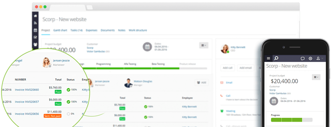 Flowlu Online Project Management Software